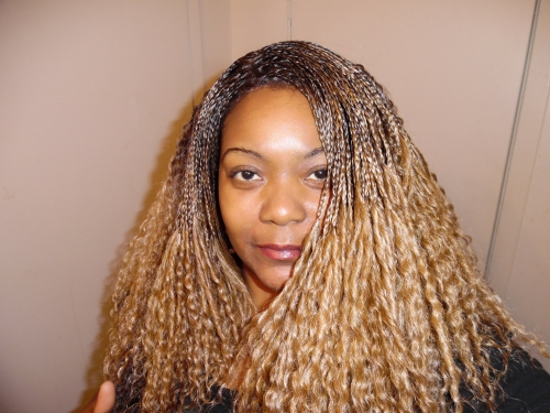 Crochet Hair Side Part : Vanessa Synthetic Hair Lace Front Wig Crochet Braid Top C Side Part ...